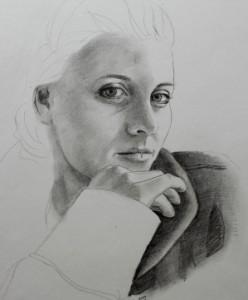 Pigeportræt - Anette Ploug Kunst