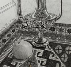 Tegning studie - Anette Ploug Kunst